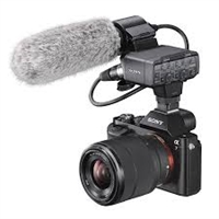 Sony XLRK2M Microphone & Adapter